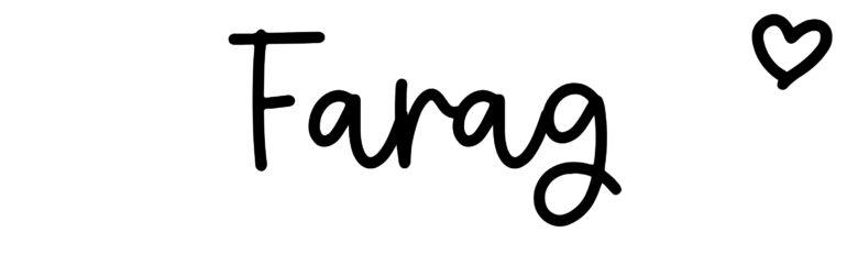 About the baby nameFarag, at Click Baby Names.com