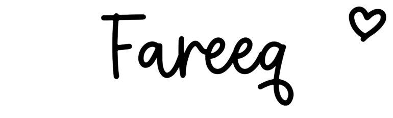 About the baby nameFareeq, at Click Baby Names.com