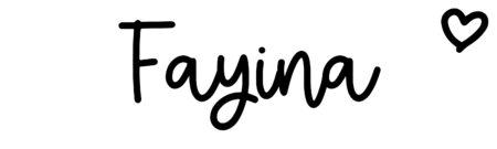 About the baby nameFayina, at Click Baby Names.com