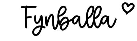 About the baby nameFynballa, at Click Baby Names.com