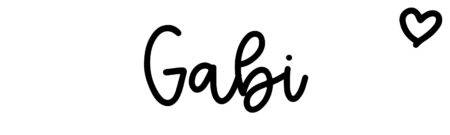 About the baby name Gabi, at Click Baby Names.com