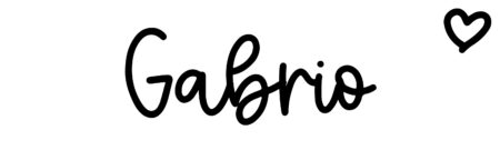 About the baby nameGabrio, at Click Baby Names.com