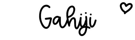 About the baby name Gahiji, at Click Baby Names.com