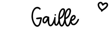 About the baby name Gaille, at Click Baby Names.com