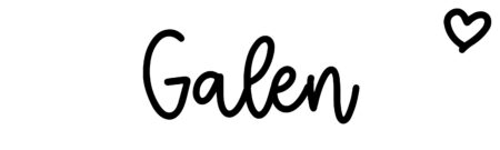 About the baby name Galen, at Click Baby Names.com