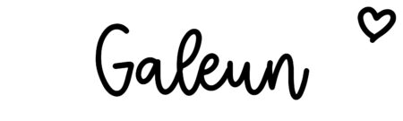 About the baby nameGaleun, at Click Baby Names.com