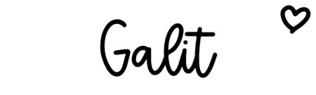 About the baby name Galit, at Click Baby Names.com