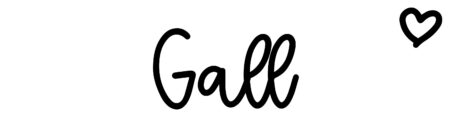 About the baby name Gall, at Click Baby Names.com