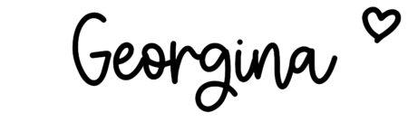 About the baby nameGeorgina, at Click Baby Names.com