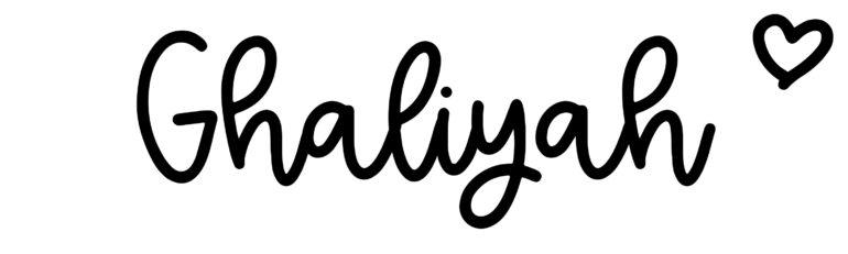 About the baby nameGhaliyah, at Click Baby Names.com