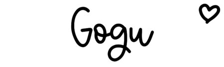About the baby nameGogu, at Click Baby Names.com