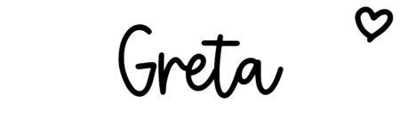 About the baby nameGreta, at Click Baby Names.com