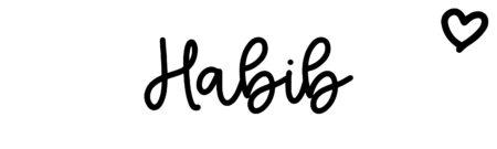 About the baby nameHabib, at Click Baby Names.com