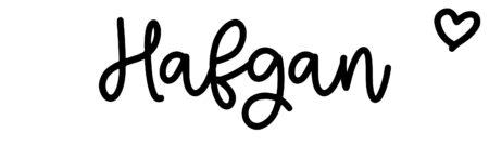 About the baby nameHafgan, at Click Baby Names.com