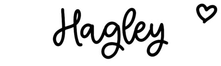 About the baby nameHagley, at Click Baby Names.com