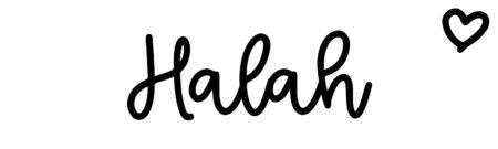 About the baby nameHalah, at Click Baby Names.com