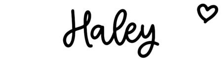 About the baby nameHaley, at Click Baby Names.com