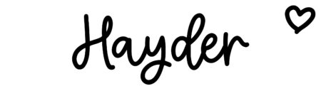 About the baby nameHayder, at Click Baby Names.com