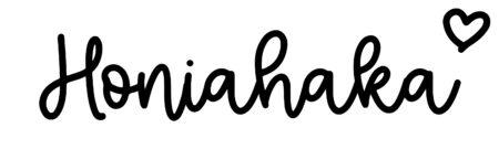 About the baby nameHoniahaka, at Click Baby Names.com
