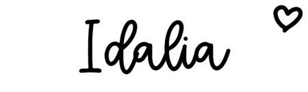 About the baby nameIdalia, at Click Baby Names.com