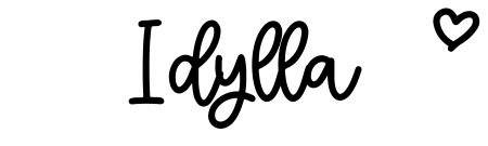 About the baby nameIdylla, at Click Baby Names.com