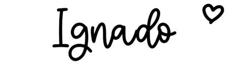 About the baby nameIgnado, at Click Baby Names.com