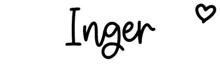 About the baby name Inger, at Click Baby Names.com