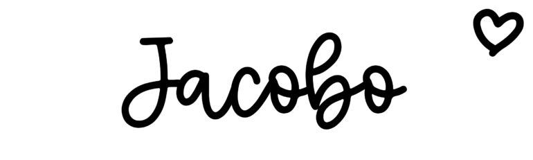 About the baby nameJacobo, at Click Baby Names.com