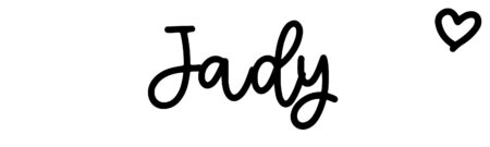 About the baby nameJady, at Click Baby Names.com