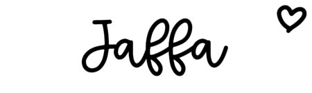About the baby nameJaffa, at Click Baby Names.com