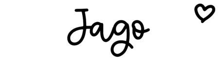 About the baby nameJago, at Click Baby Names.com