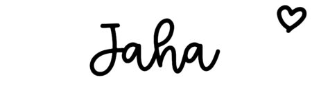 About the baby nameJaha, at Click Baby Names.com