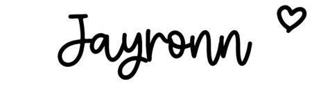 About the baby nameJayronn, at Click Baby Names.com
