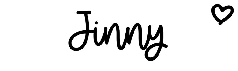 About the baby nameJinny, at Click Baby Names.com