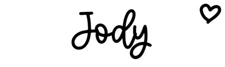 About the baby nameJody, at Click Baby Names.com