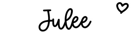 About the baby nameJulee, at Click Baby Names.com