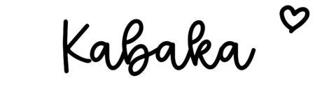 About the baby nameKabaka, at Click Baby Names.com