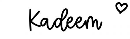 About the baby nameKadeem, at Click Baby Names.com