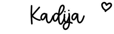 About the baby nameKadija, at Click Baby Names.com
