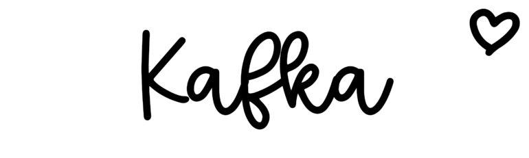 About the baby nameKafka, at Click Baby Names.com