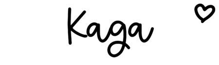 About the baby nameKaga, at Click Baby Names.com