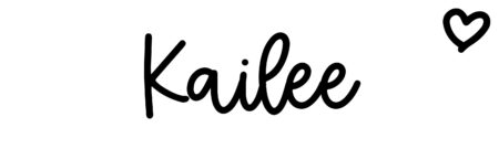 About the baby nameKailee, at Click Baby Names.com