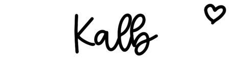 About the baby nameKalb, at Click Baby Names.com