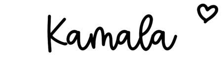 About the baby nameKamala, at Click Baby Names.com