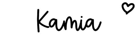 About the baby nameKamia, at Click Baby Names.com