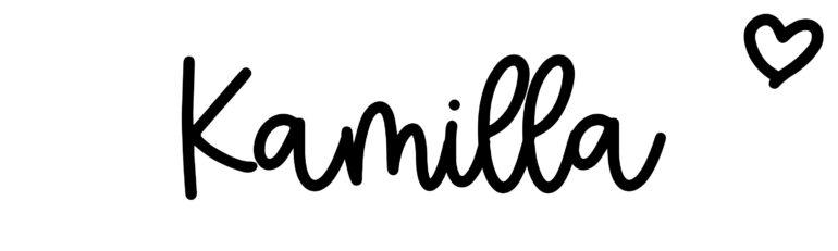 About the baby nameKamilla, at Click Baby Names.com