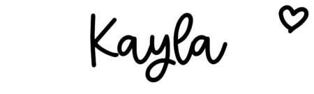 About the baby name Kayla, at Click Baby Names.com