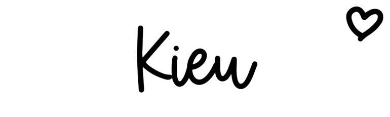 About the baby nameKieu, at Click Baby Names.com