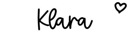 About the baby nameKlara, at Click Baby Names.com