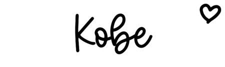 About the baby nameKobe, at Click Baby Names.com